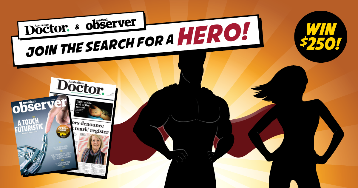 Join the search for a HERO!