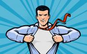 Businessman/Superhero
