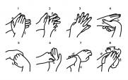 washing hands chart