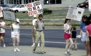 Abortion protest