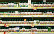 vitamins on shelves