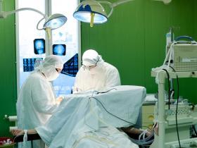 brain surgery concept