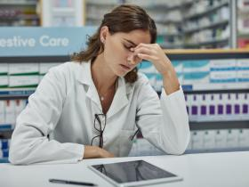 Why patients don't engage with stressed pharmacists