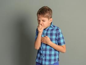Coughing child