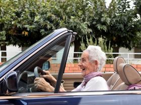 Older patient driving
