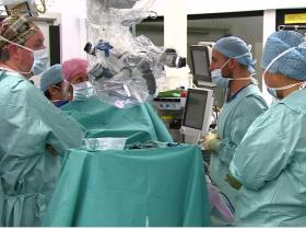 Surgery craniopagus twins