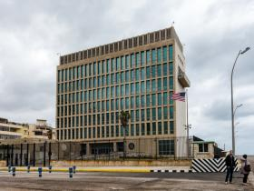 The US Embassy in Havana