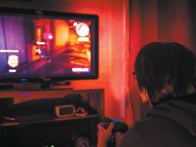 Gamer video game