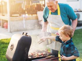 barbecue burn risk