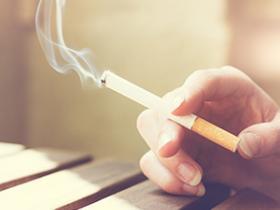 Smoking, hand