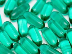 codeine in green pill