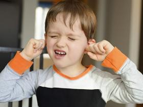 Child with sore ears