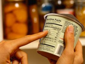 Calories on food labels