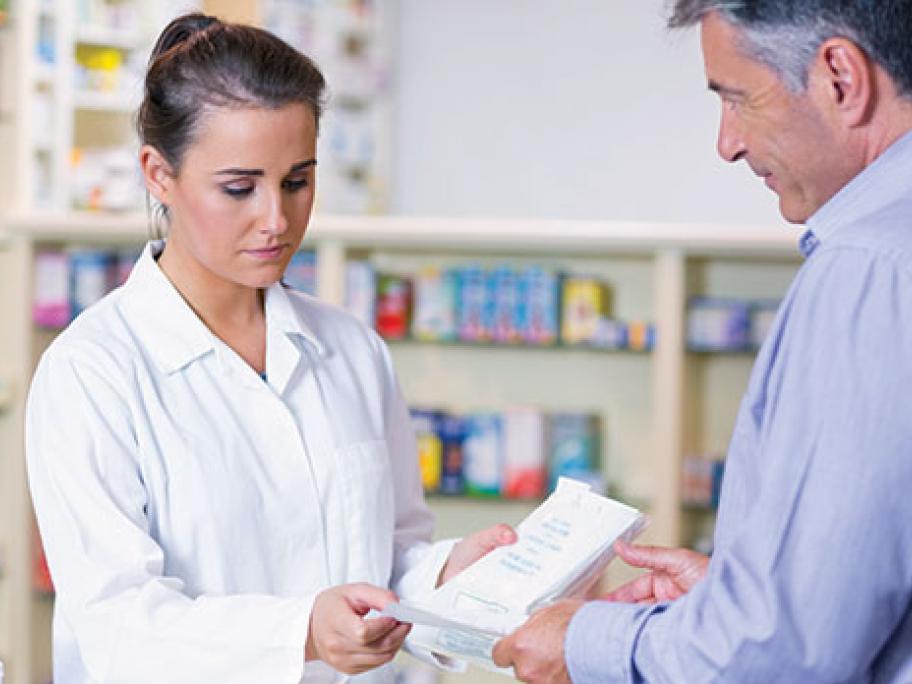 script for drugs at pharmacy