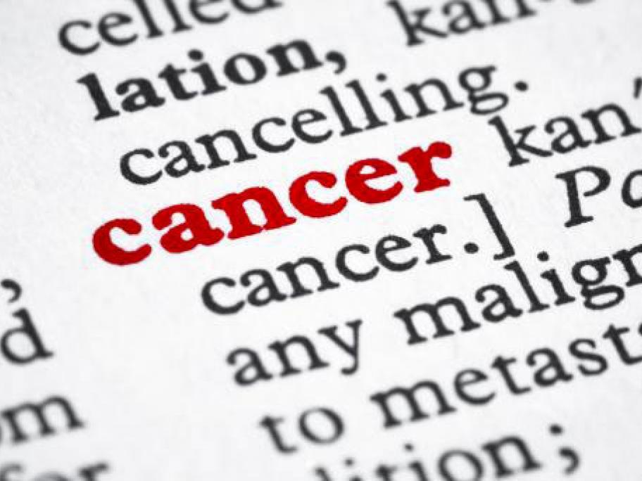 cancer name concept