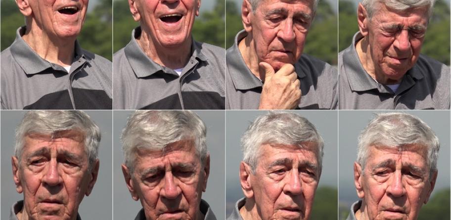 dementia man