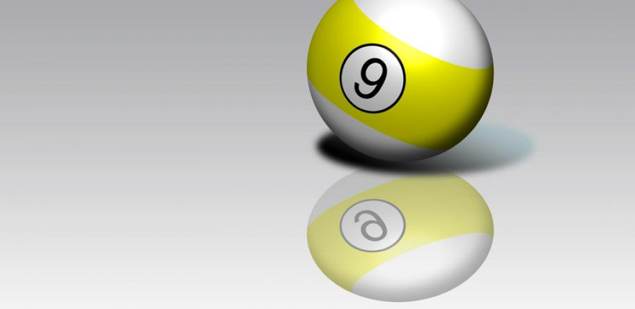 nine billiard ball
