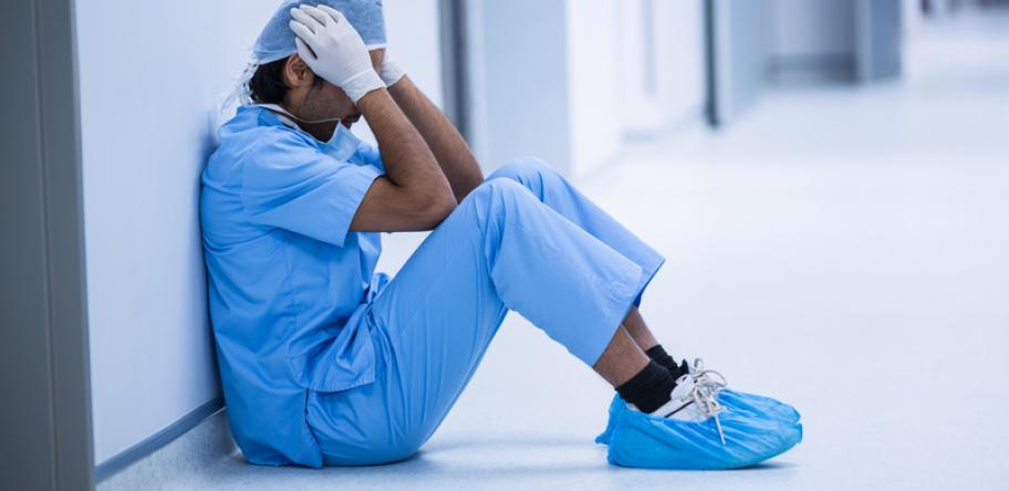 sad surgeon