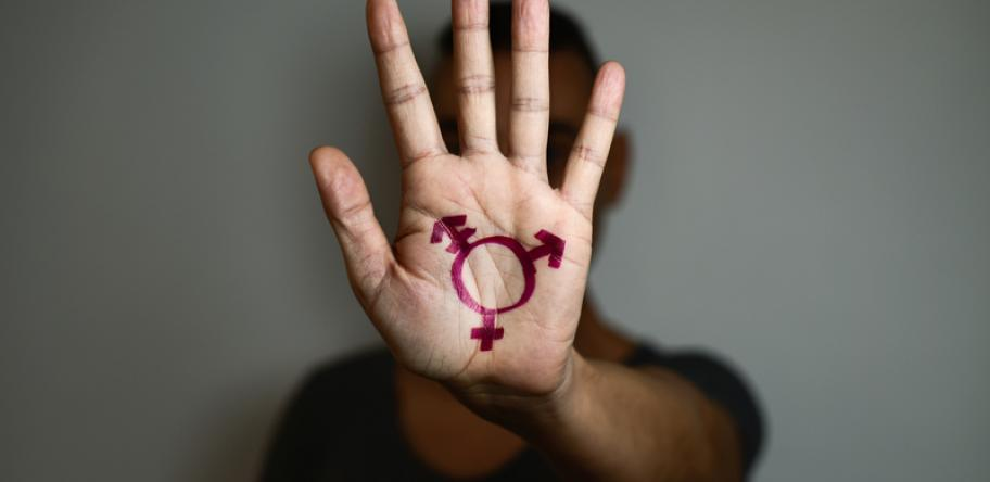 transgender hand