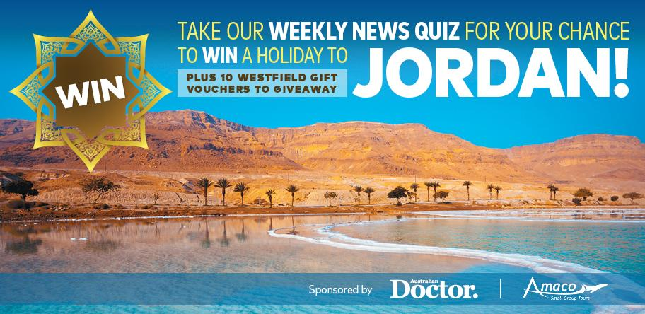 Win a holiday to Jordan