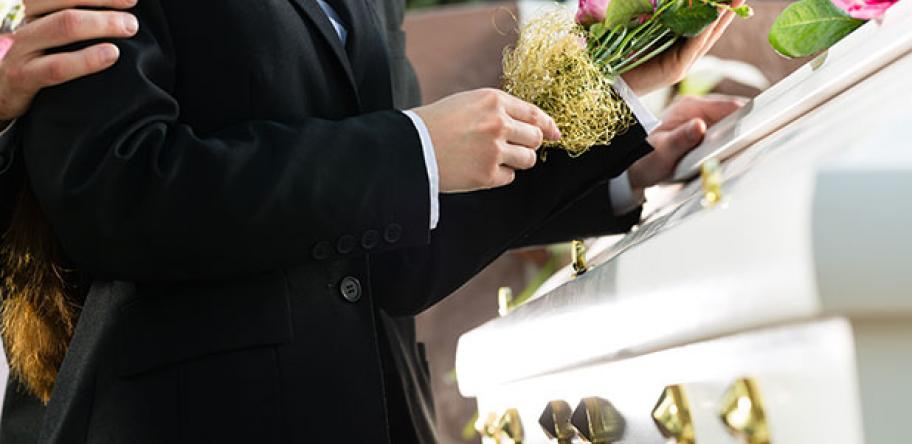 funeral stock image