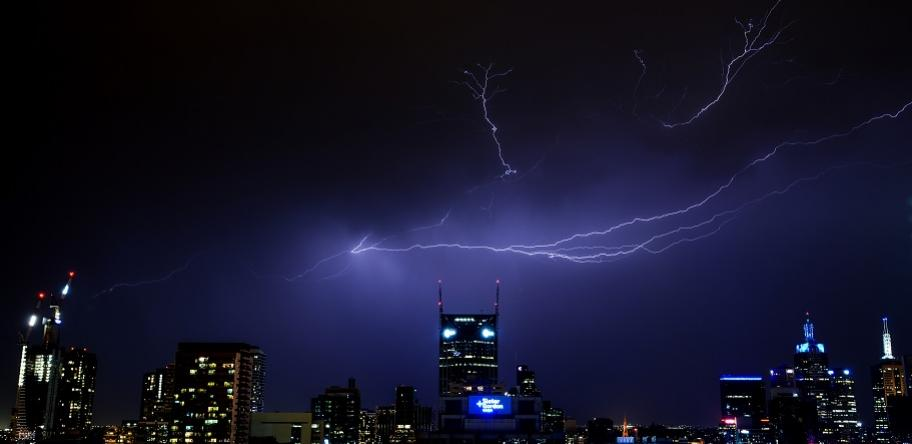 storm in Melbourne