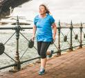 Woman exercising weight